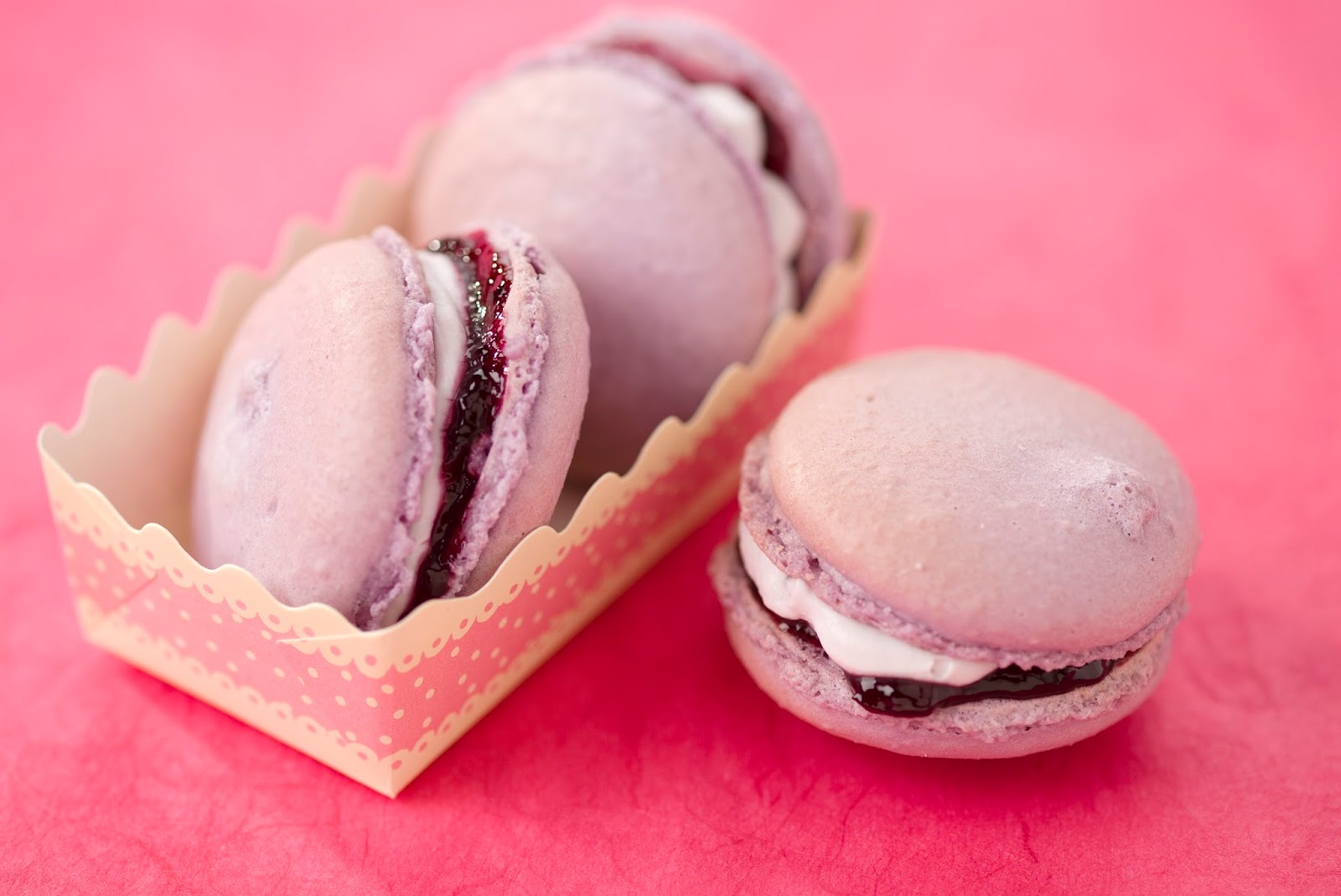 Blueberry Macaroons Recipe.. | ¡ Wasn't Expecting That