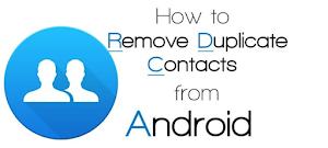 تطبيق Duplicate Contacts لحذف جهات الاتصال المكررة على الاندرويد