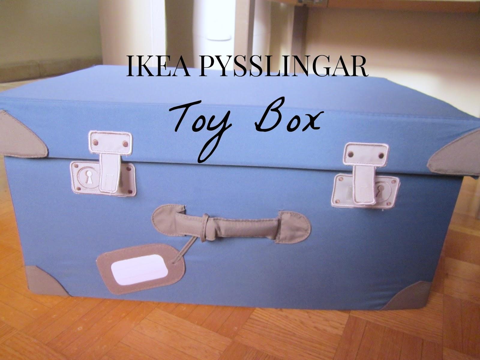 IKEA PYSSLINGAR Toy Box
