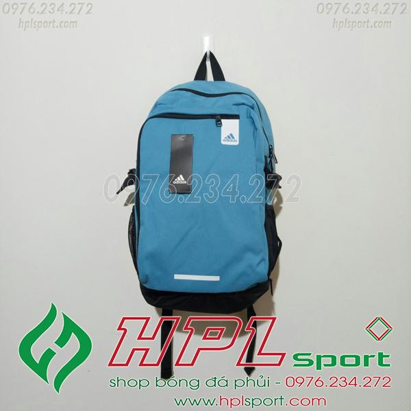 Balo bóng đá đẹp Adidas - 01 màu xanh nhạt