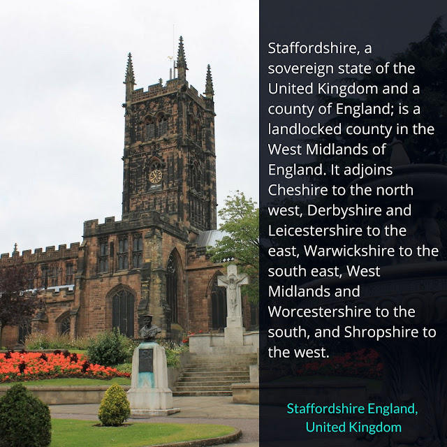 Couple's Must-see Places in Staffordshire