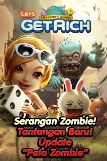 Download Cheat LINE Let's Get Rich Terbaru