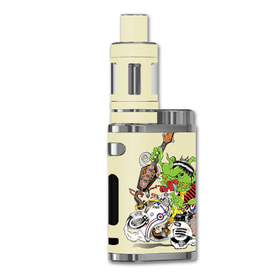 Scooter Punk Vape Skin for Eleaf pico