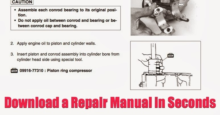 DOWNLOAD 100HP Outboard Repair Manual: DOWNLOAD 100 HP