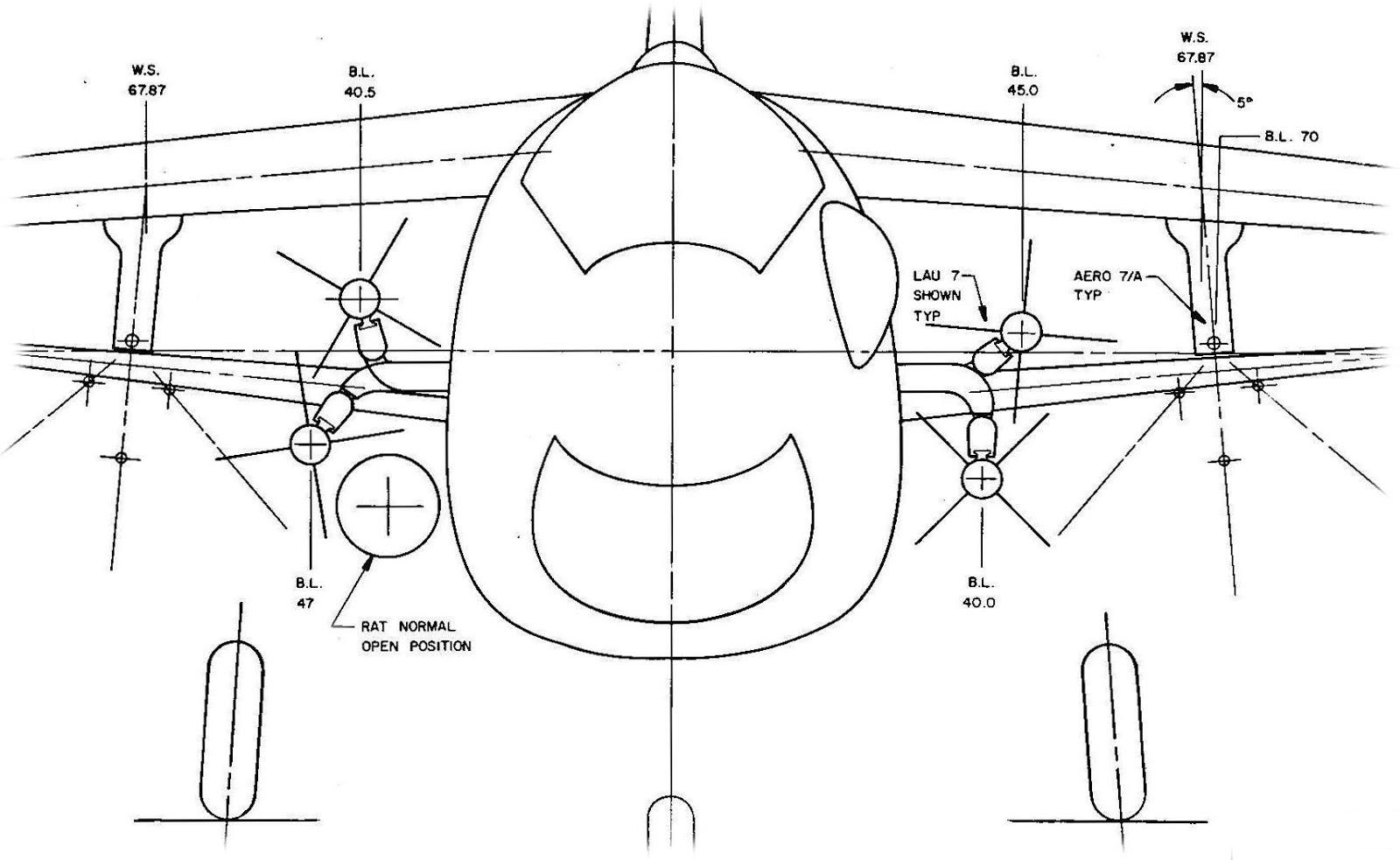 U S Navy Aircraft History A Brief History Of F8u