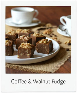 This homemade Coffee & Walnut Fudge recipe is far from shy and retiring.  It's robust, packed with flavour, and the coffee flavour cuts through the sweetness of the confectionery beautifully.  It's a great alternative fudge flavour!