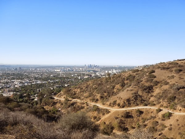 LA View Runyon Canyon Nov 2013