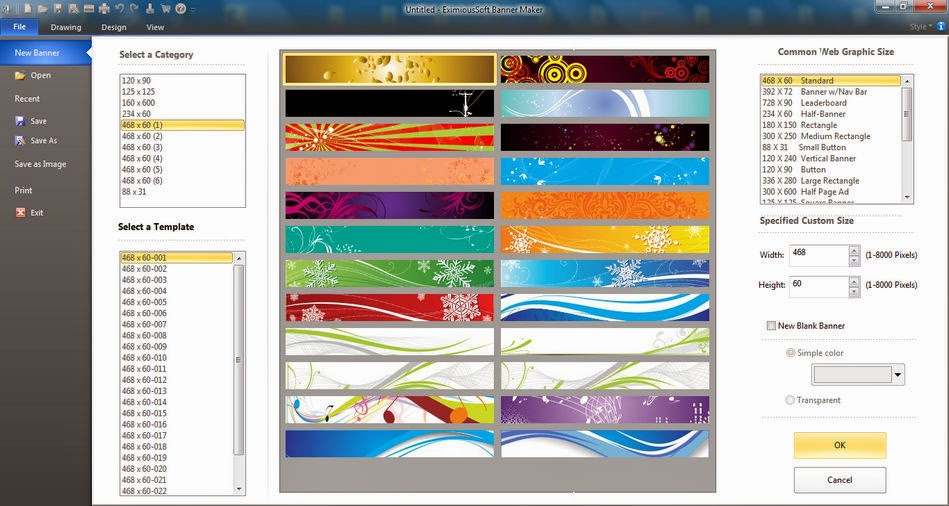 EximiousSoft Banner Maker 5.39 Free