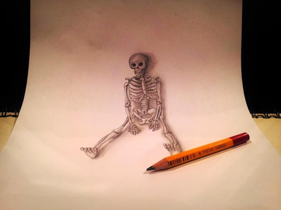 Lukisan Pensil 3D   Blog Urang Kuningan
