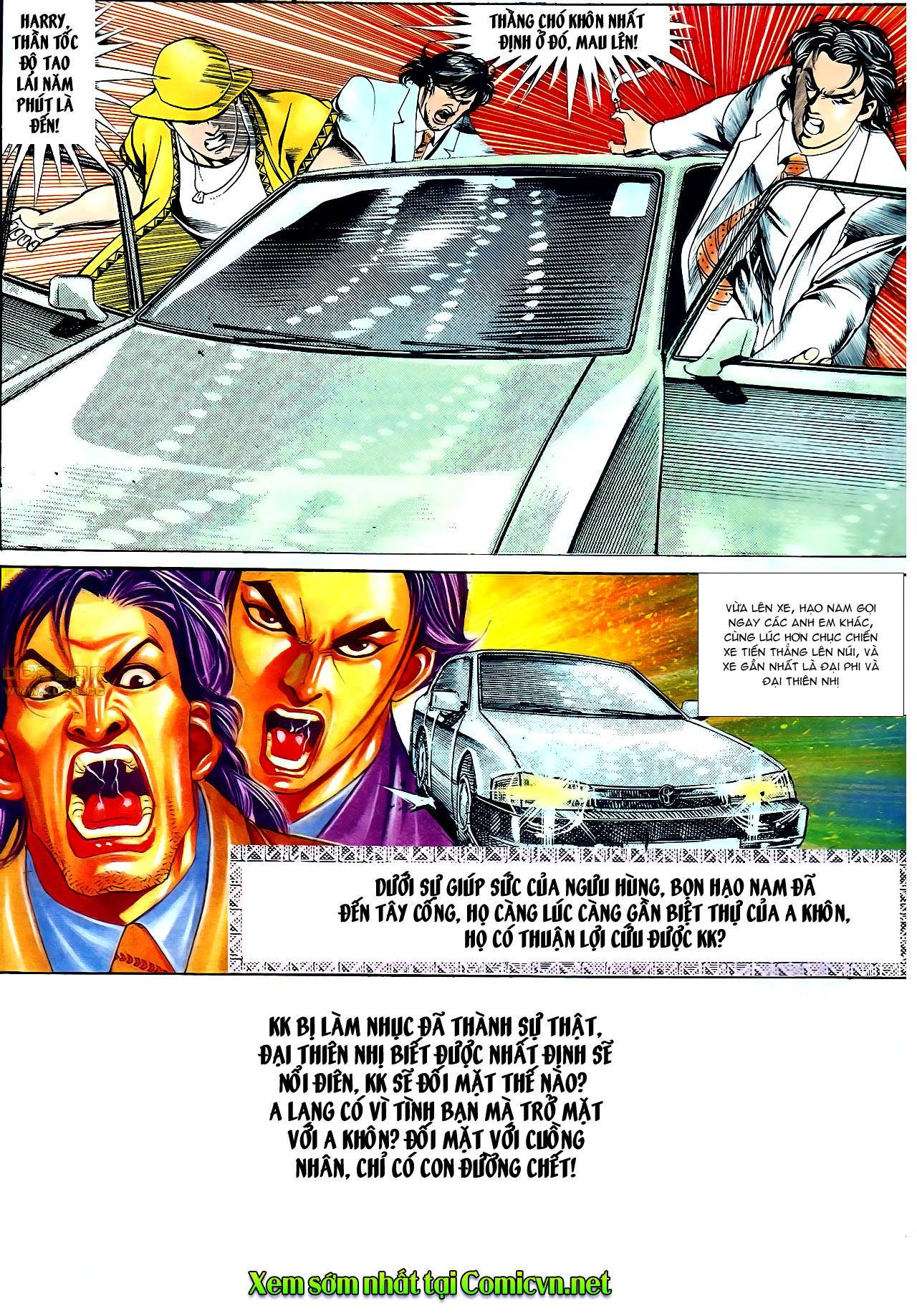 Người Trong Giang Hồ chapter 140: vây giết a khôn trang 31
