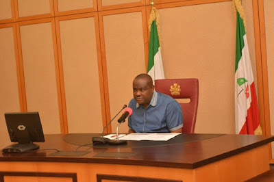 """""""The Comrade in Oshiomhole died long ago. From Khaki, he's now wearing costly imported Safari Suits"""" – Governor Wike"""