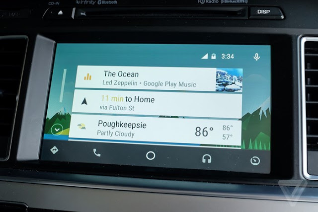 Plataforma Android de multimídia automotiva vai além do Android Auto na CES