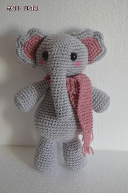 elefante amigurumi crochet ganchillo tejido amigurumi elephant animal cute kawaii