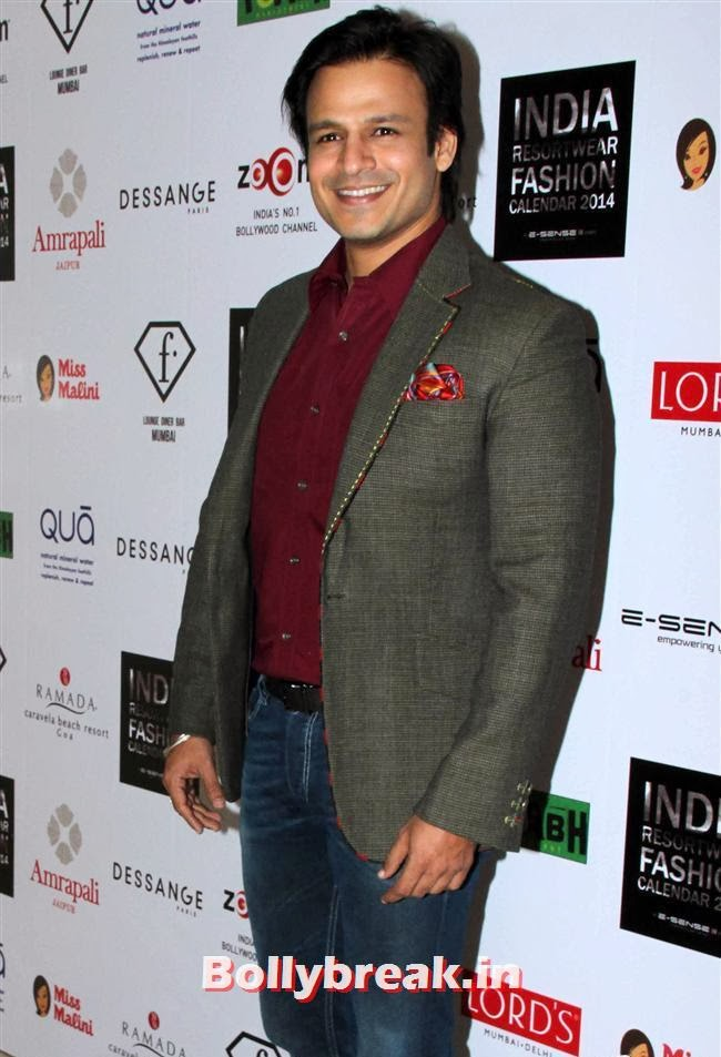 Vivek Oberoi, Kangana, Evelyn, Pria sizzle at Resortwear Fashion Calendar Launch