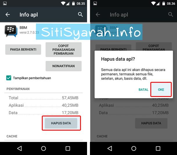 Cara Keluar BBM Android