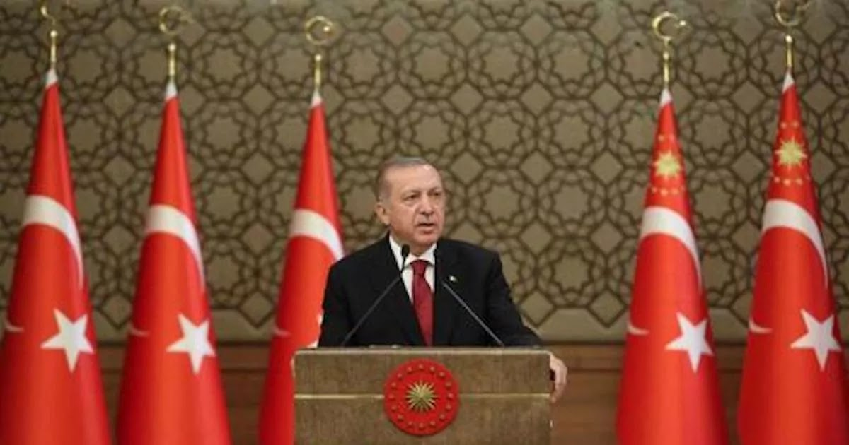 Erdogan Makes Speech Calling Greeks 'Infidels' And Says That Turkey Will Not Back Down In The Eastern-Mediterranean