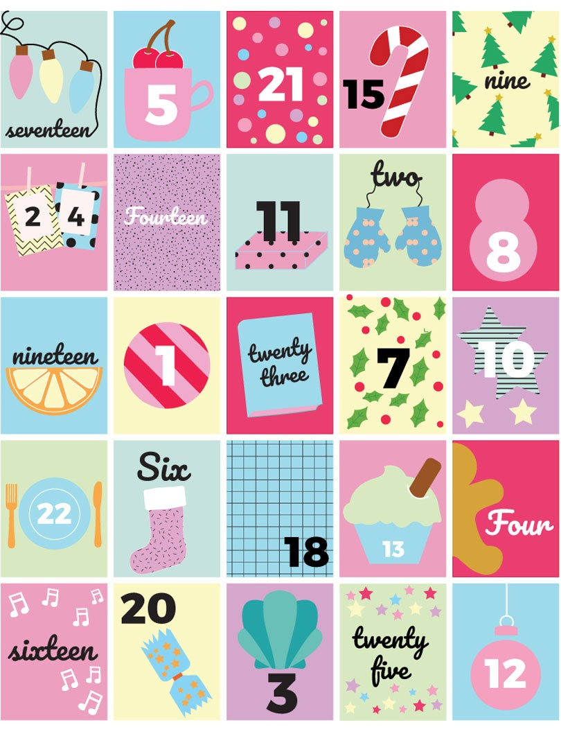 advent calendar design