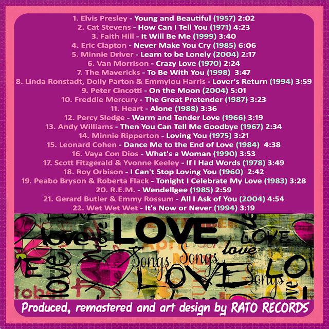 Cd LOVE SONGS FOREVER 6 Back
