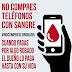 No compres teléfonos con sangre, no compres robado