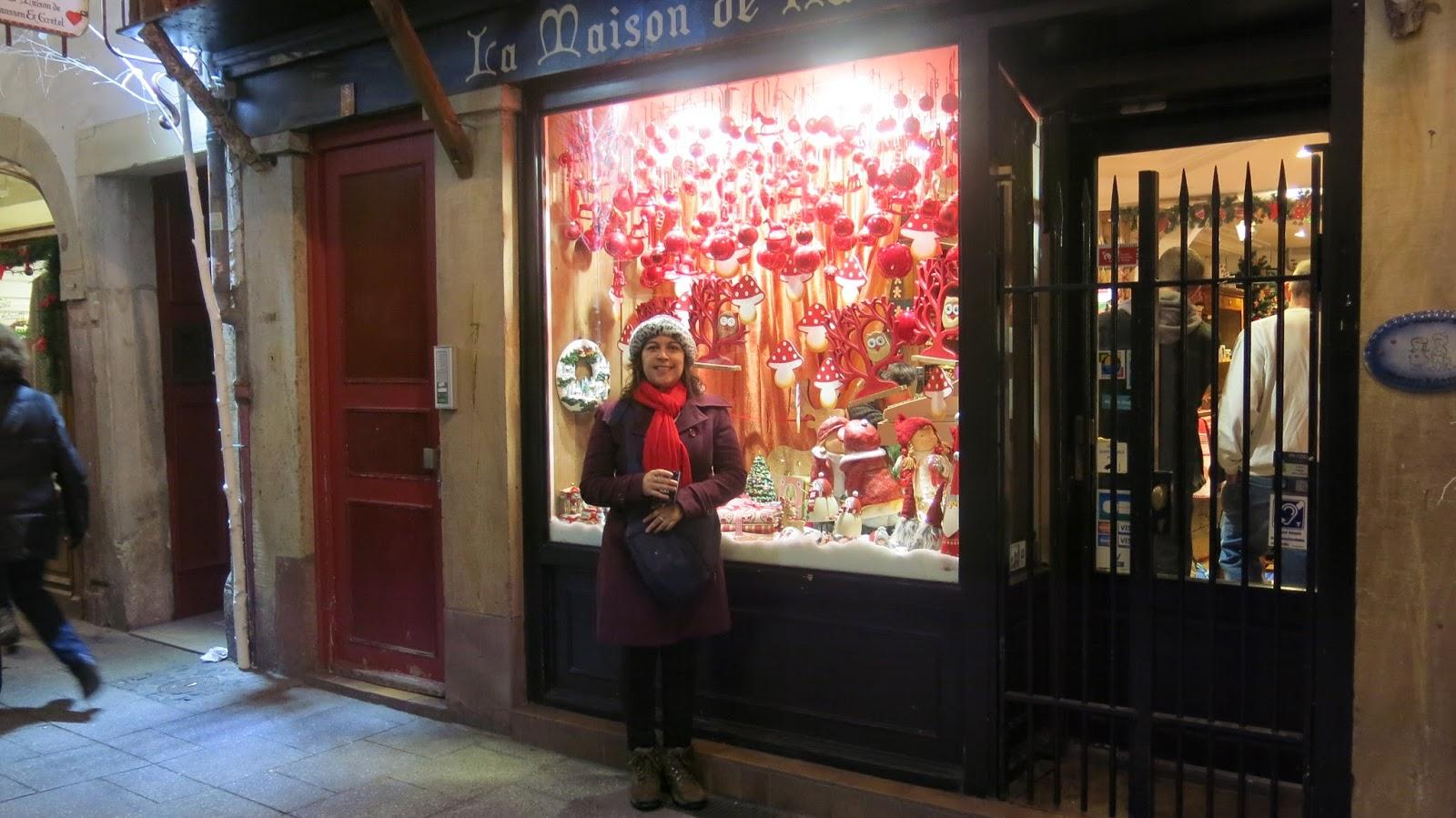 Mercados de Natal na Alsácia 2016  Obernai e Strasbourg   Casinha ... 0c268590d7