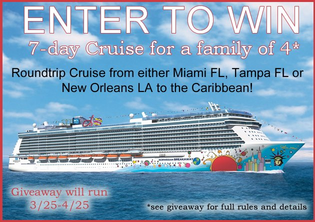 Win A 7 Day Cruise To The Caribbean!