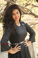 Telugu Actress Pavani Latest Pos in Black Short Dress at Smile Pictures Production No 1 Movie Opening  0291.JPG