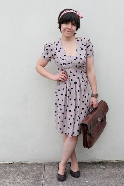 Vintage inspired Dorothy Perkins tea dress