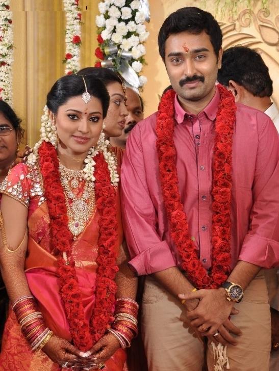Actress Sneha And Prasanna Engagement Photos