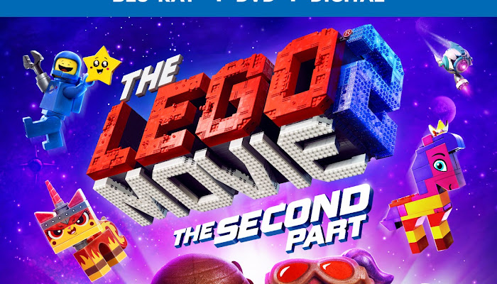 The LEGO Movie 2: The Second Part Arrives on Blu-ray, DVD and Digital: Enter to Win a DVD Copy!