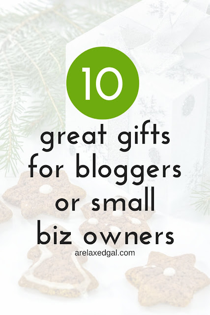 Gift guide: A List of Great Gifts for the Entrepreneur in Your Life | arelaxedgal.com
