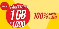 Cara Daftar Paket Yellow Indosat 1000 Rupiah Dengan Mudah