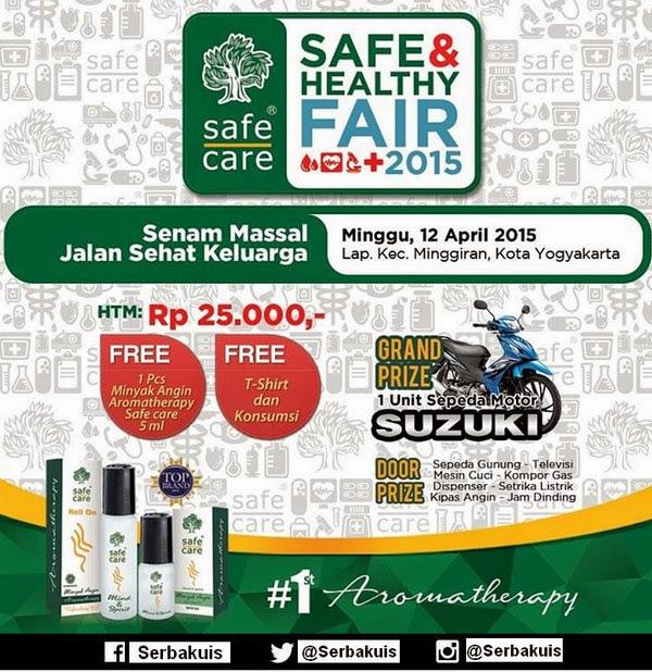 Event Safe & Healthy Fair 2015 Grandprize Motor Suzuki