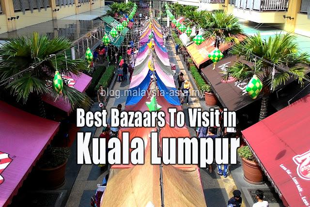 Kuala Lumpur Best Bazaars and Markets