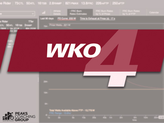 WKO4 New Metrics - Peaks Coaching Group