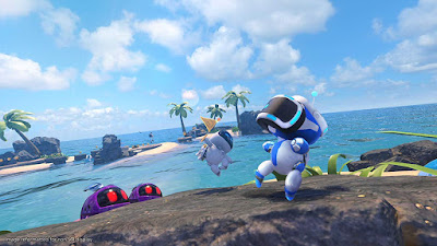 Astro Bot Rescue Mission Game Screenshot 1