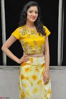 Richa Panai in Yellow Slim Fit Crop top ~ CelebxNext 010.JPG