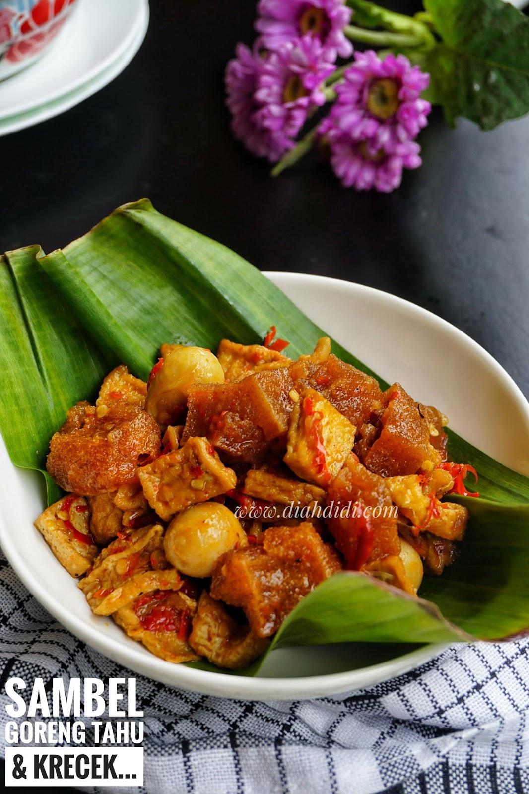 Sambal Goreng Tahu : sambal, goreng, Didi's, Kitchen:, Sambel, Goreng, Krecek