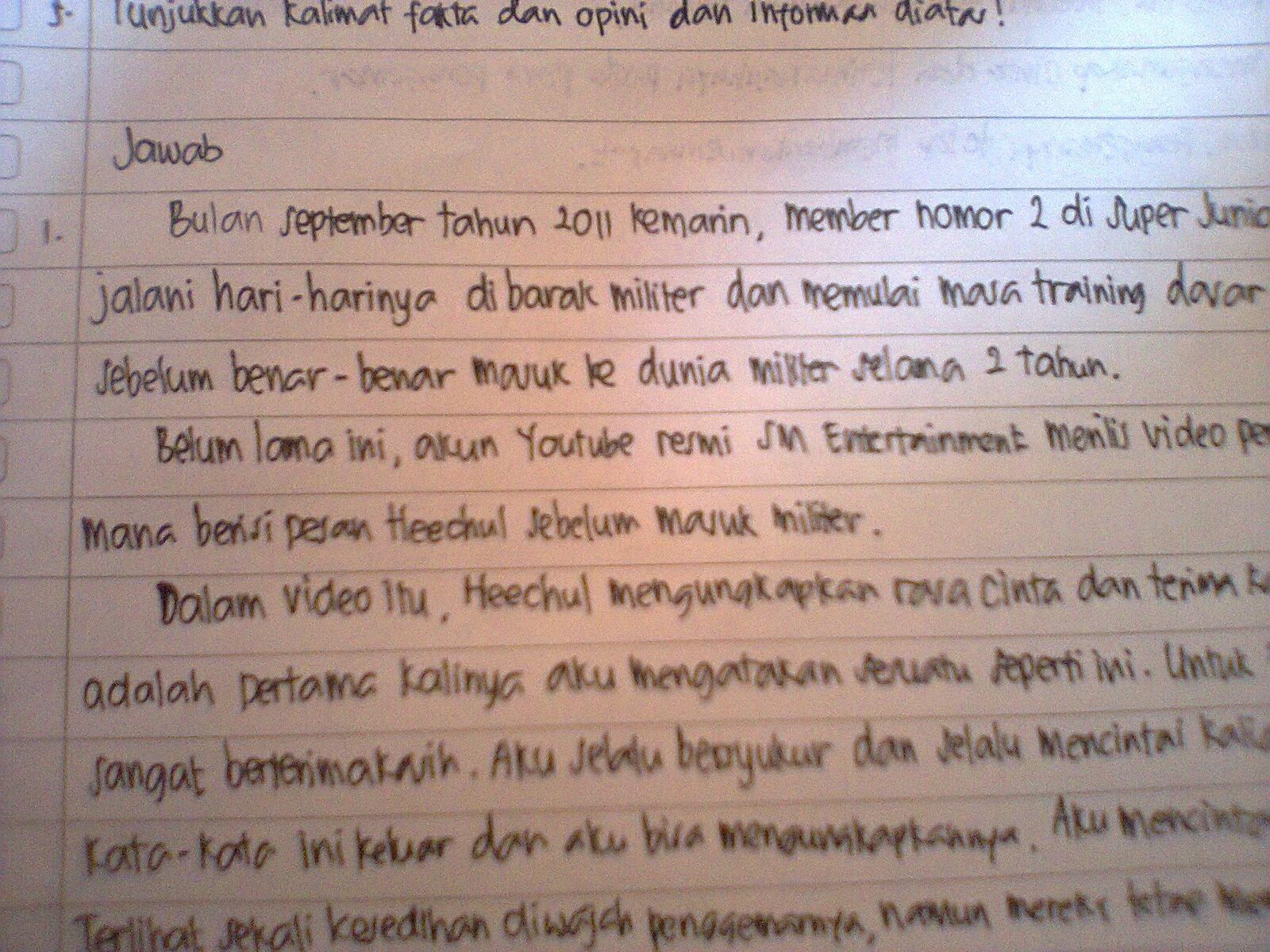 this is me ulangan bahasa indonesia