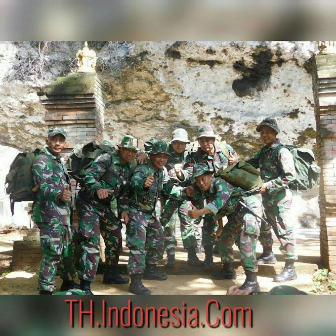 Ekspedisi Minggu Militer Kodim 0718 Pati di Watupayung Gadudero Sukolilo