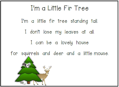Poems are a great way to meet many standards weekly. This poem and early reader are a great way to start.