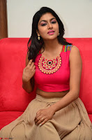 Akshita super cute Pink Choli at south indian thalis and filmy breakfast in Filmy Junction inaguration by Gopichand ~  Exclusive 090.JPG