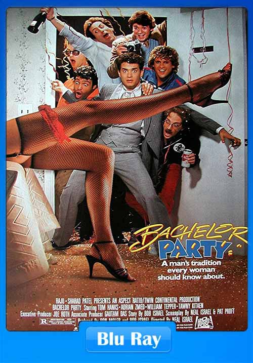 BachelorParty 1984 HEVC BluRay 100MB x265 Poster