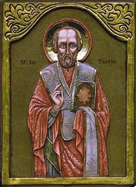 sveti Teotim - filozof, misijonar in škof