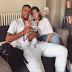Adorable new photo of Super Eagles star William Troost-Ekong, his partner and their newborn son Oscar