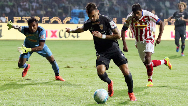 Hero ISL 2016: Atletico Kolkata draw against NEUFC