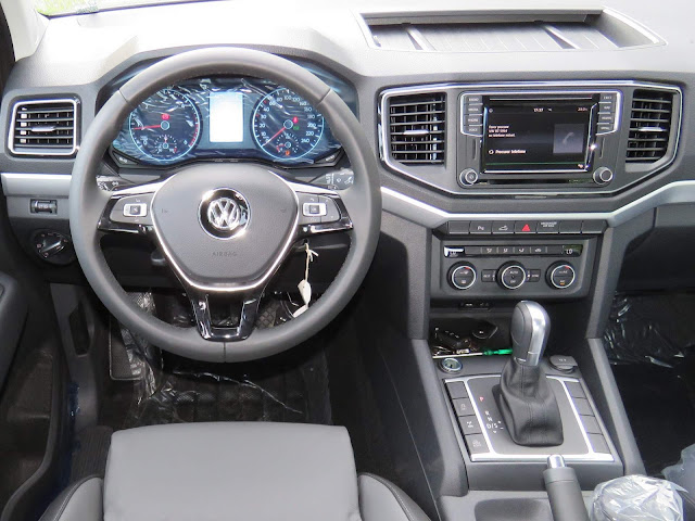 Nova Amarok Highline 2017 - inteiror