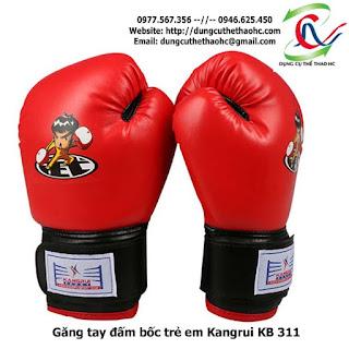 Găng tay đấm bốc trẻ em Kangrui KB 311