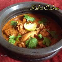 Kadai Chicken/Kadai Murg