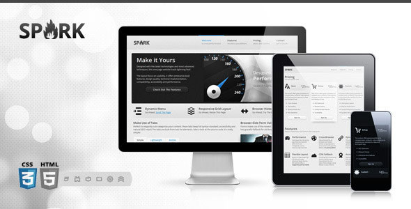 Spark Responsive WP Themes