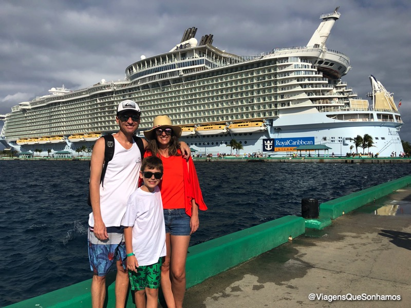 Allure of the Seas, cruzeiro Caribe